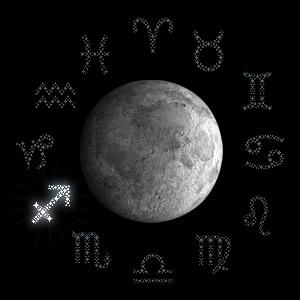 Луната в Стрелец
